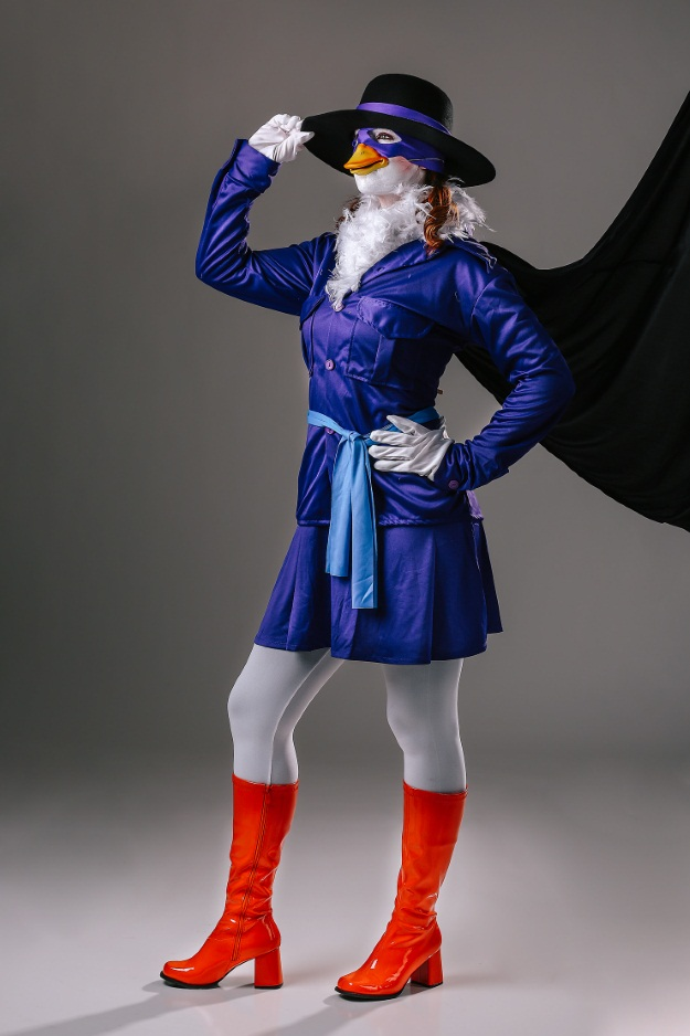 Womens Darkwing Duck Costume