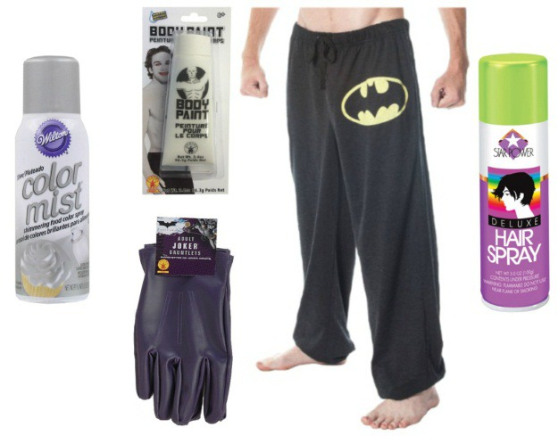 Joker Halloween Costume Products Used