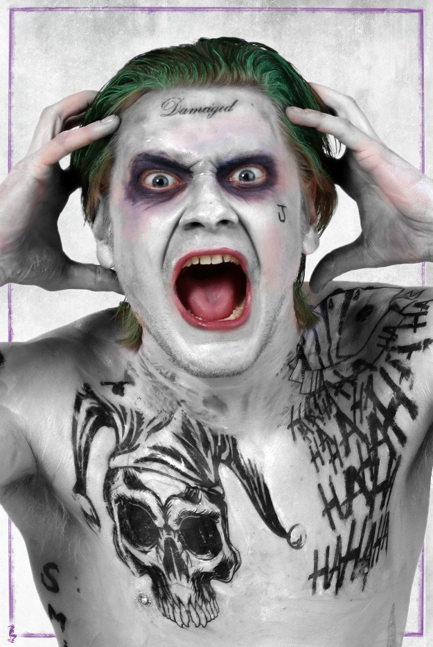 Diy Jared Leto Joker From Suicide Squad Cosplay And