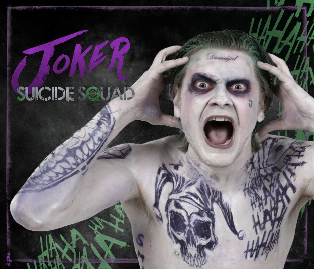 Suicide Squad Joker Halloween Costume.Diy Jared Leto Joker From Suicide Squad Cosplay And Makeup Tutorial