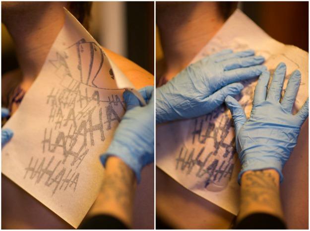 Joker Tattoo Stencils