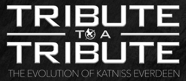 Katniss Evolution of Costumes
