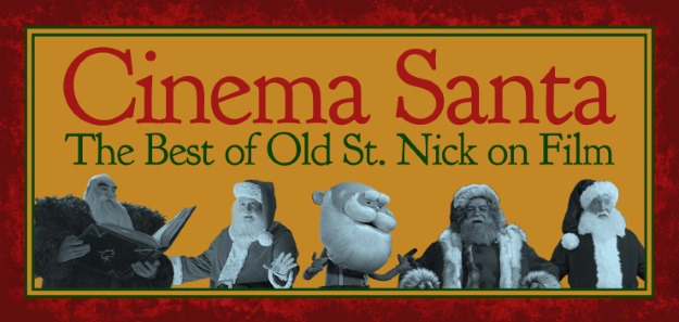 The Evolution of Santa in Movies Infographic