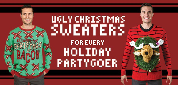 Ugly Christmas Sweaters for Every Holiday Partygoer - Halloween Costumes Blog  sc 1 st  Halloween Costumes & Ugly Christmas Sweaters for Every Holiday Partygoer - Halloween ...