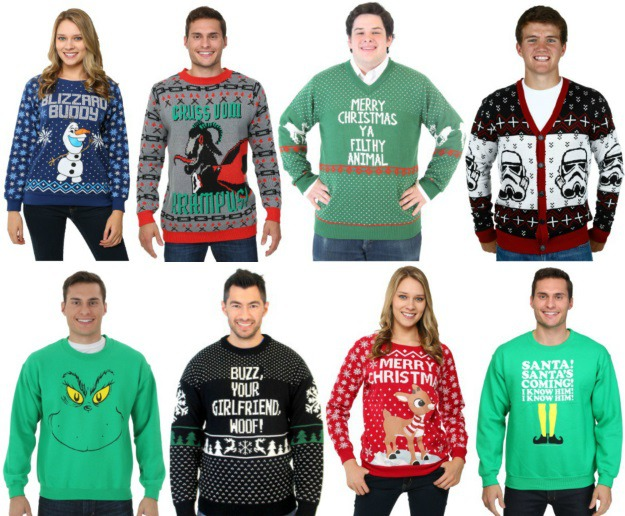 Ugly Christmas Sweaters for Every Holiday Partygoer - Halloween ...