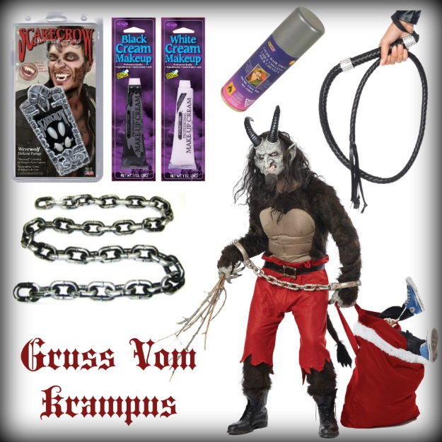 How to make an authentic krampus costume