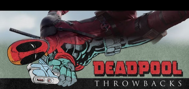 Deadpool Throwback: Then & Now
