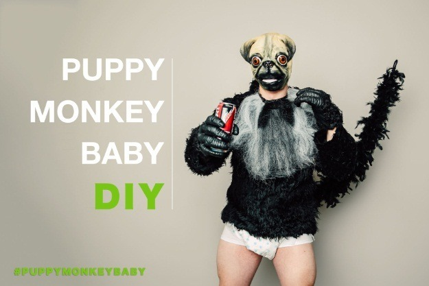 Puppy Monkey Baby Header