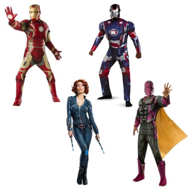 Team Iron Man Costumes