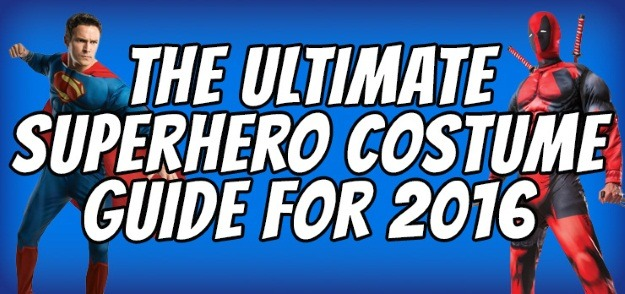 Ultimate Superhero Costume Guide 2016
