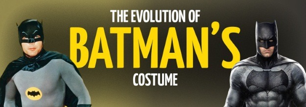 Batman Costume Evolution Header