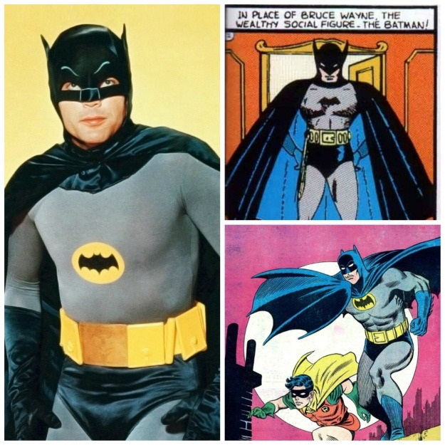 Early Batman Costumes