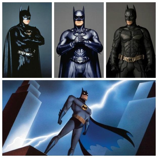 Batman Costumes 90s and 2000s