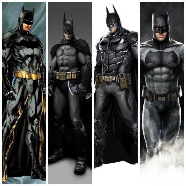 Current Batman Costumes