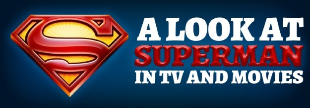 Superman Movies and TV Header