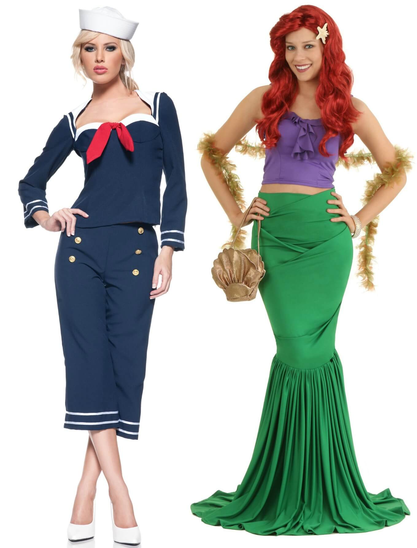 mermaid-and-sailor-bff-costumes