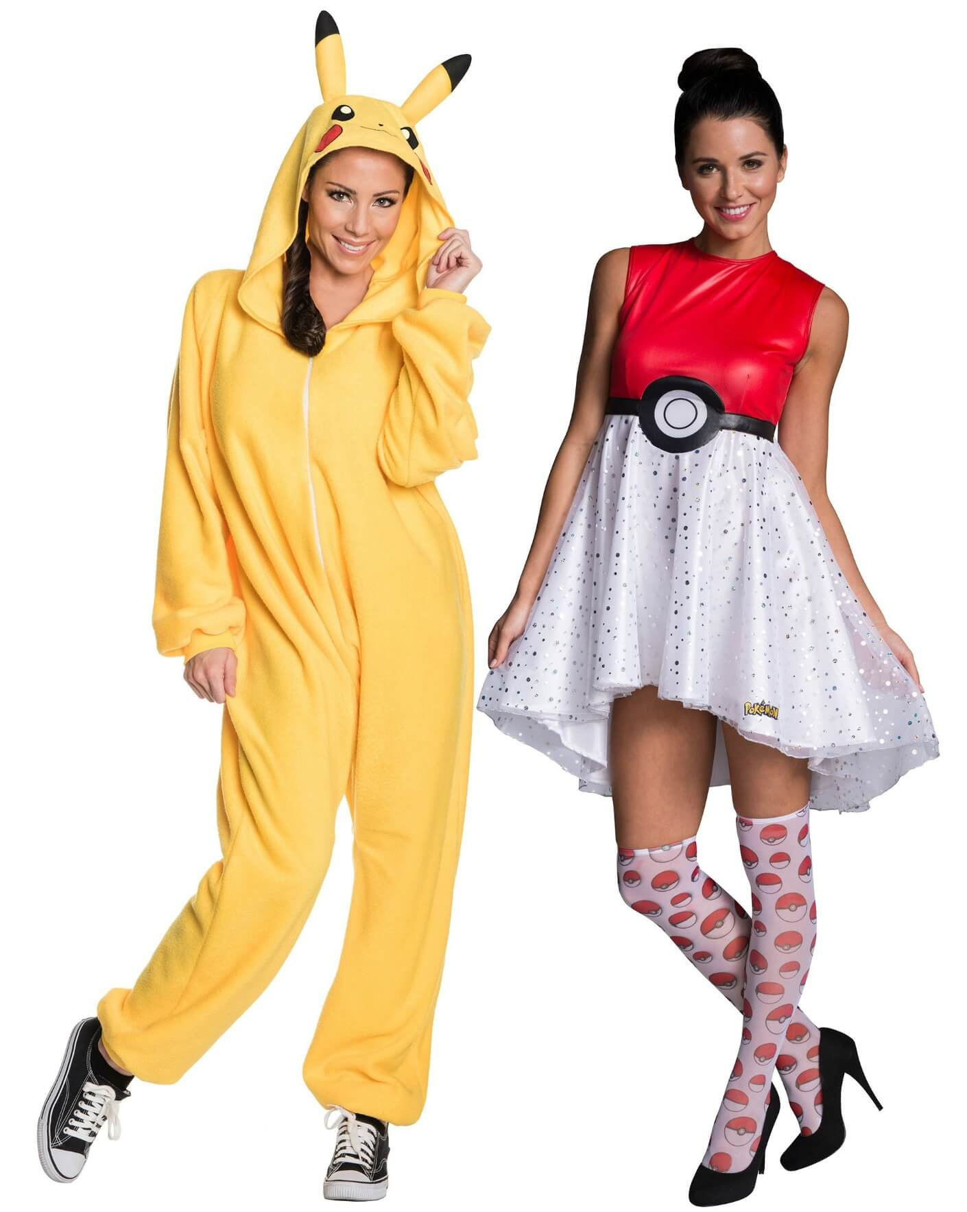 pikachu and pok ball halloween costumes