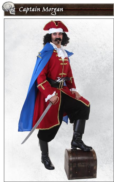 Captain Morgan Pirate Costume