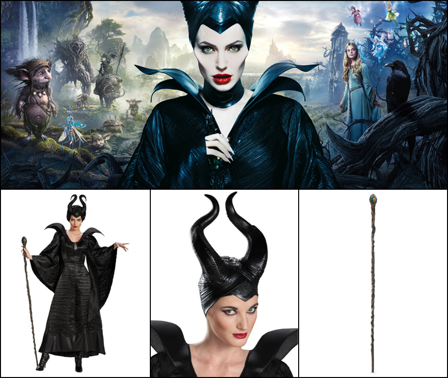 Maleficent: Maleficent costumes are going to be big this year thanks to Angelina Jolie.