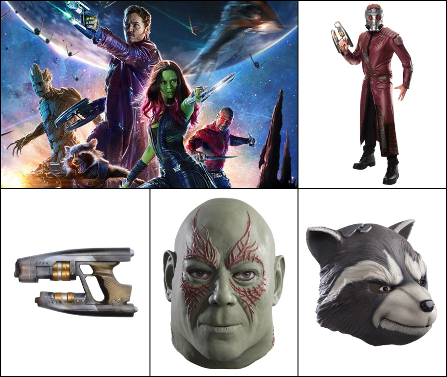 Guardians of the Galaxy: Any costume relating to Guardians of the Galaxy is amazing.