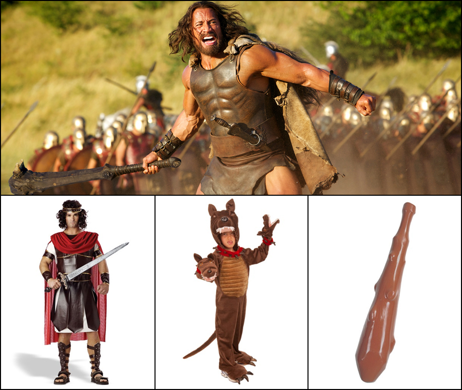 Hercules: A minimal Hercules DIY costume is heroic and very manly.