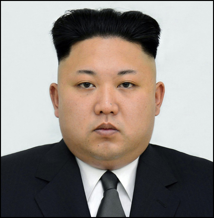 Kim Jon Un: Kim Jon Un's oppressive regime and bad hair are ripe for mocking the Great Leader.