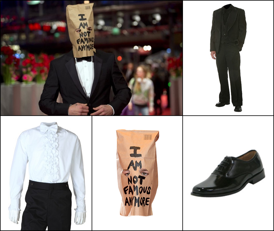 Shia Lebouf: Seriously, Shia wore this to a movie premiere.