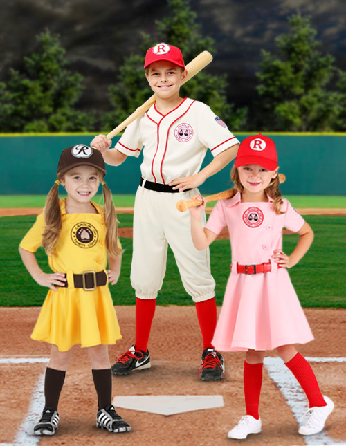A League of Their Own Kids Costumes