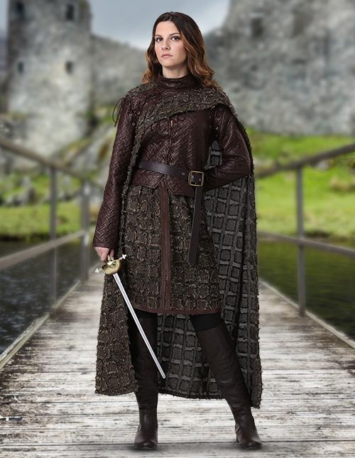 Scottish Warrior Woman's Costume