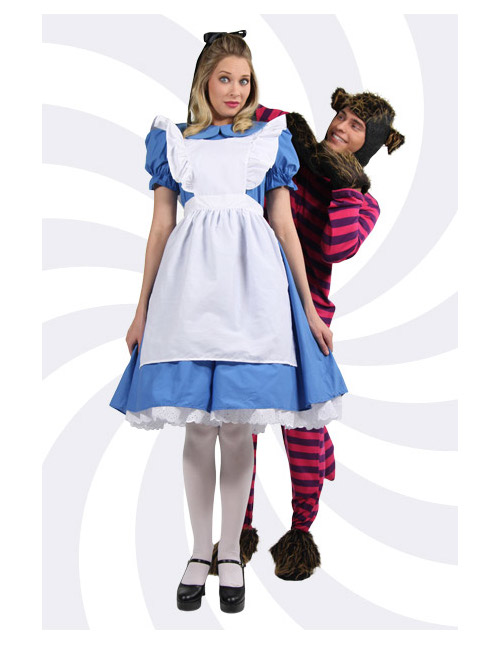 Alice and the Cheshire Cat Costumes