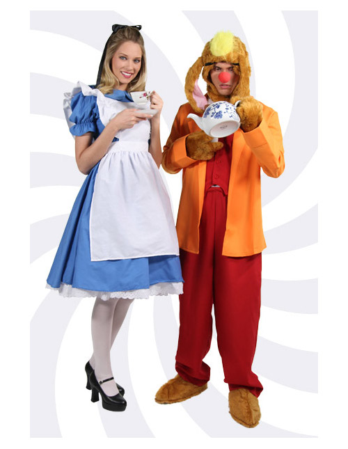 Alice and the March Hare Costumes