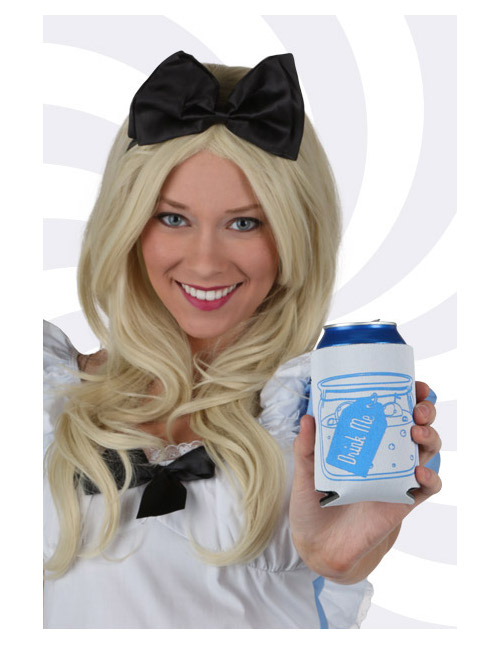 Alice Drink Me Koozie