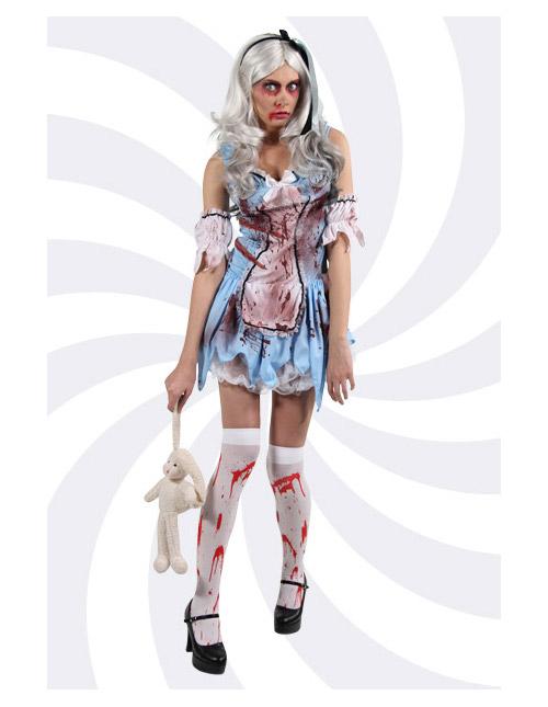 Zombie Alice Costume