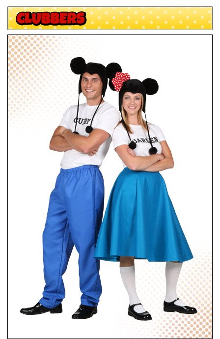 Mickey Mouse Club Couples Costume