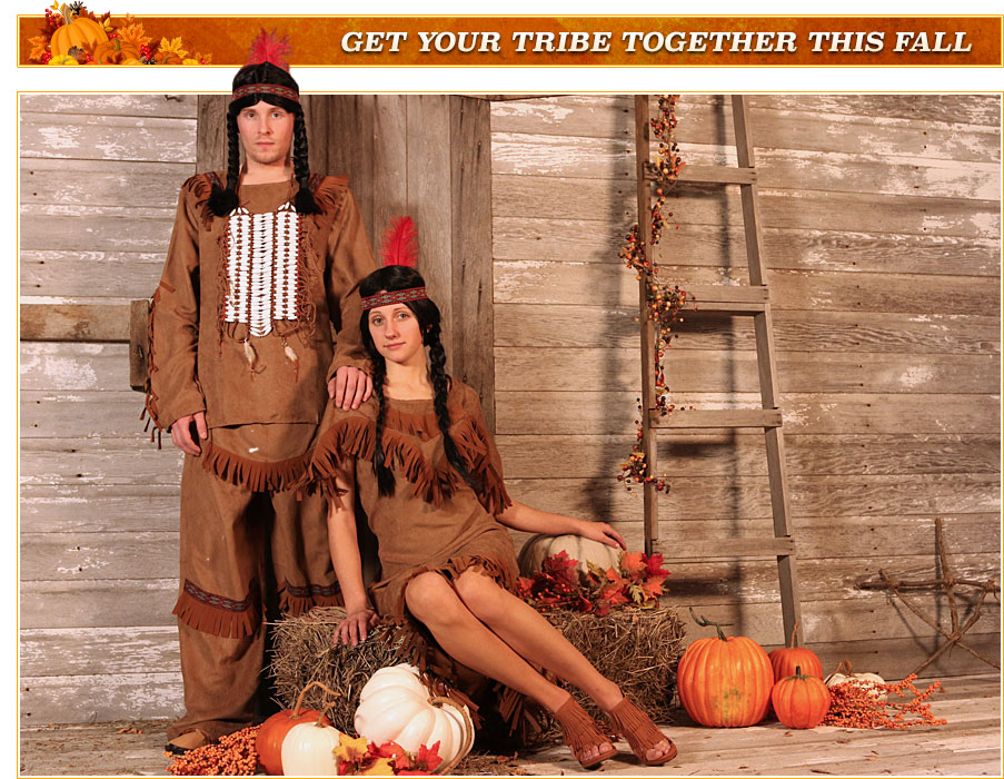 Adult Native American Costumes