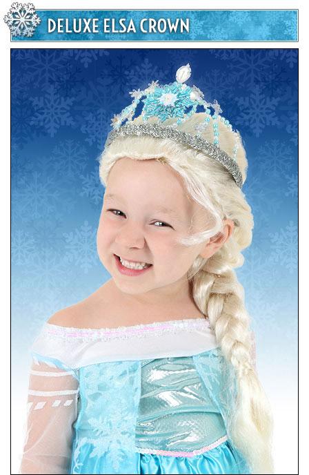 Deluxe Elsa Crown