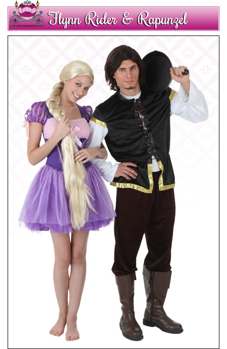 Rapunzel and Flynn Rider Couples Costume