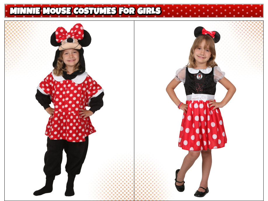 Girls Minnie Mouse Costumes