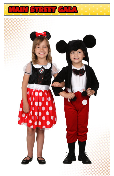Kids Minnie and Mickey Mouse Costumes