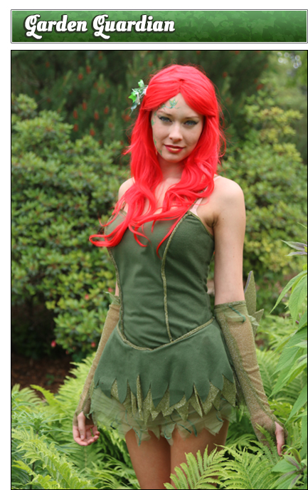 Poison Ivy Poses Garden Guardian