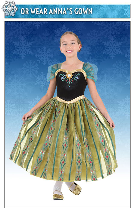Girls Anna Coronation Gown