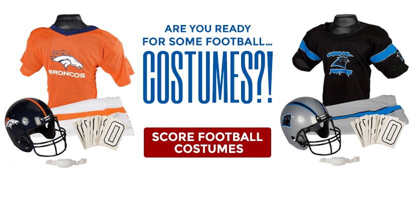 Are you ready for some football...costumes?! Score football costumes.