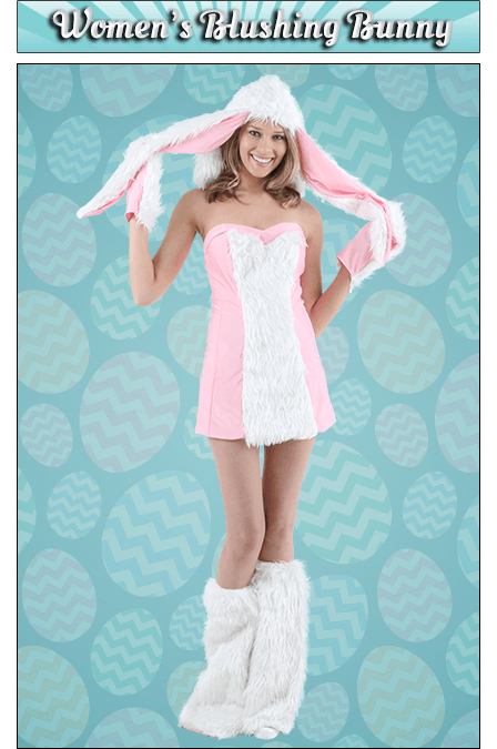 Women's Blushing Bunny Costume