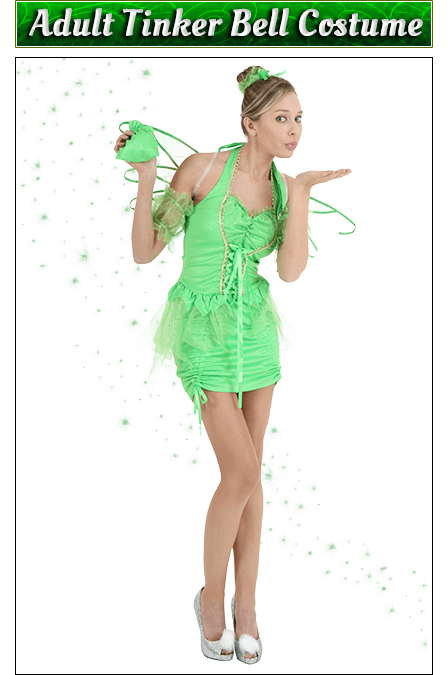 Adult Tinker Bell Cosutme