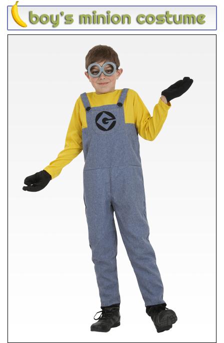 Boy's Minion Costume