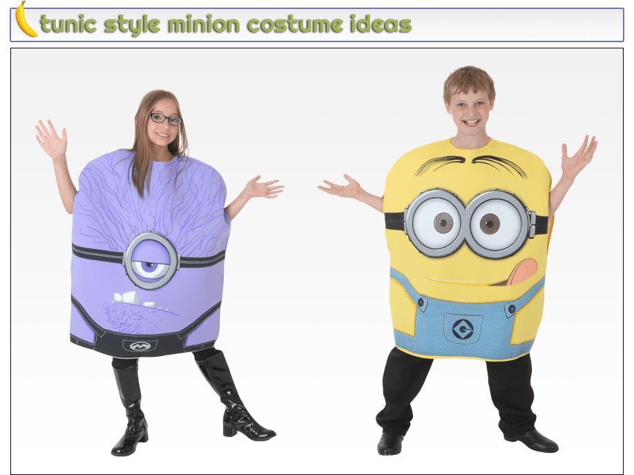 Tunic STyle Minion Costume Ideas