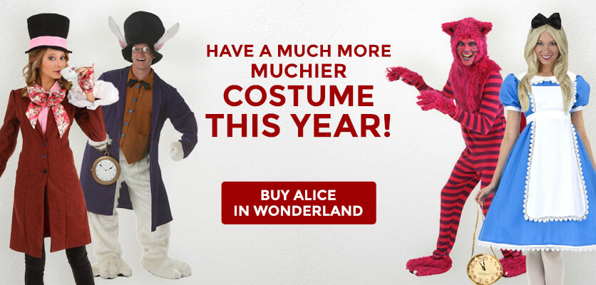 Have a much more muchier costume this year!
