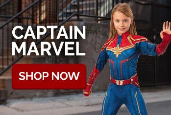 Captain Marvel. Shop Now.
