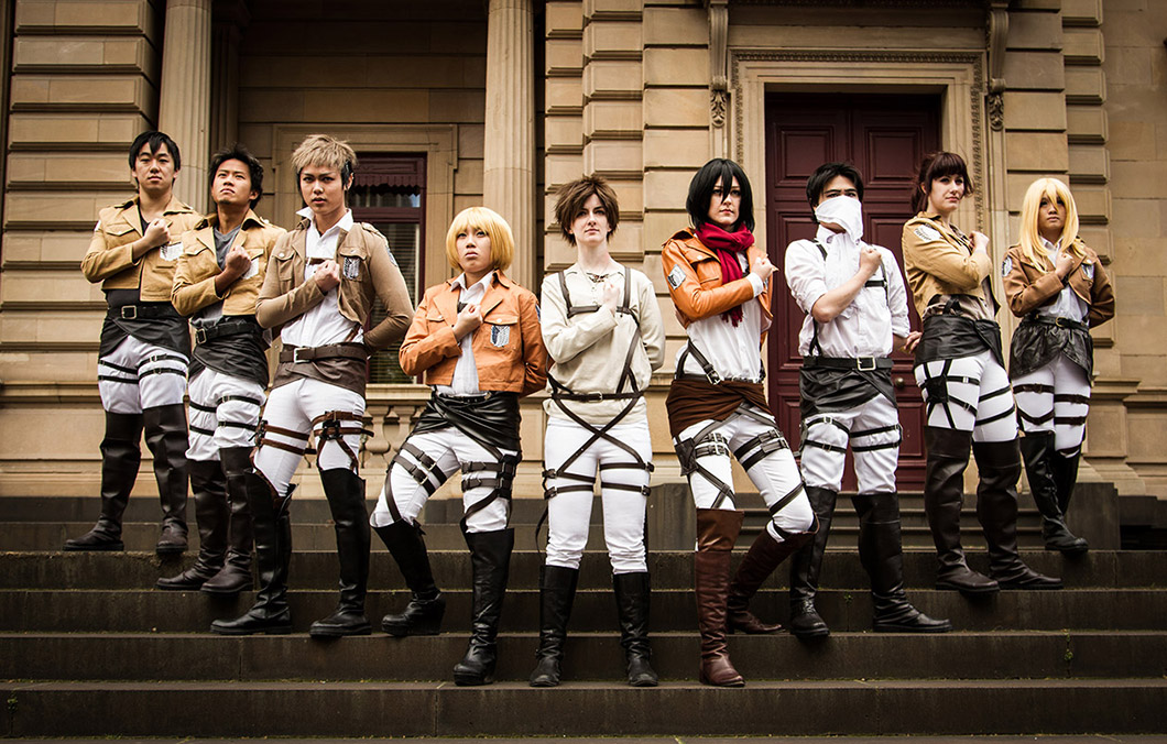 Attack on Titan Group Costume