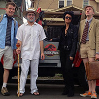 Jurassic Park Group Halloween Costume